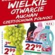 Niskie ceny, duży wybór Auchan Częstochowa Północ zaprasza