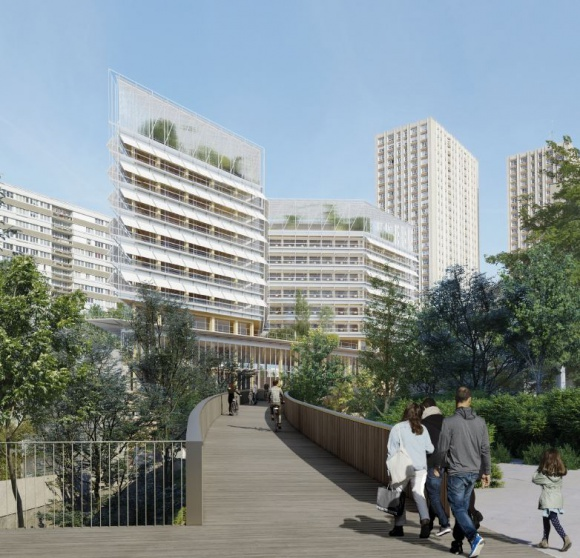 Innowacyjne, podziemne centrum logistyczne od SEGRO w samym centrum Paryża