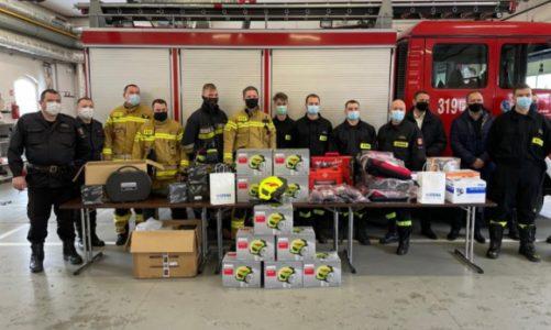 Specjalistyczny sprzęt dla strażaków z Wielkopolski od Stena Recycling