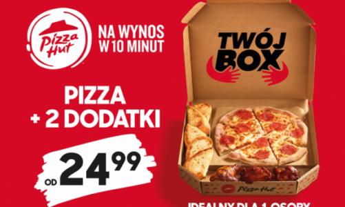"""Ruszyła kampania Pizza Hut wspierająca promocję nowej oferty """"Twój Box"""""""